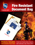 Fire Resistant Document Bag (Pack of 2)