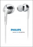 Philips SHE9755 In-Ear Headphones (White)