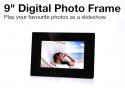 "AVLabs 9"" High Resolution Digital Photoframe - Mirror Black"