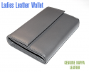 Gray Ladies' Leather Wallet