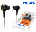 Patented Virtual Surround Sound Design Philips In-Ear Headphones